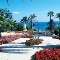 Ligurien_Hotel Royal San Remo Garden with well
