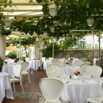 Ligurien_Hotel Royal San Remo lunch Corallina Pool Restaurant